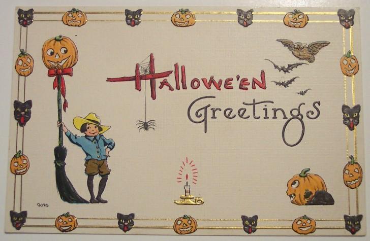 Ilustracion Halloween antigua 022