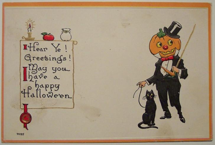 Ilustracion Halloween antigua 025