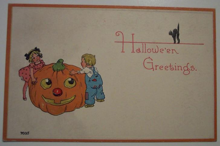 Ilustracion Halloween antigua 026