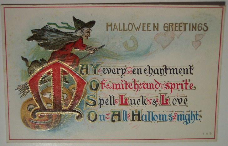 Ilustracion Halloween antigua 030