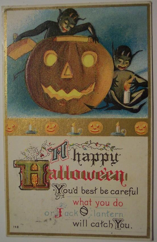 Ilustracion Halloween antigua 031