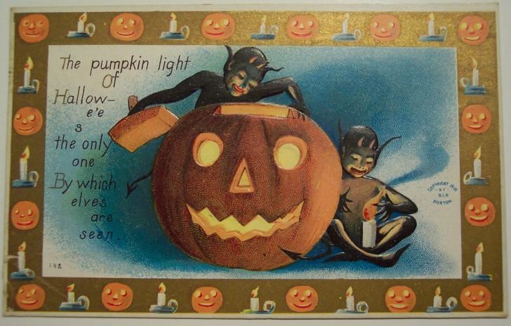 Ilustracion Halloween antigua 036