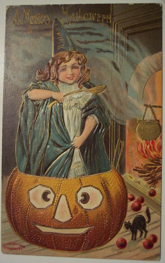 Ilustracion Halloween antigua 037