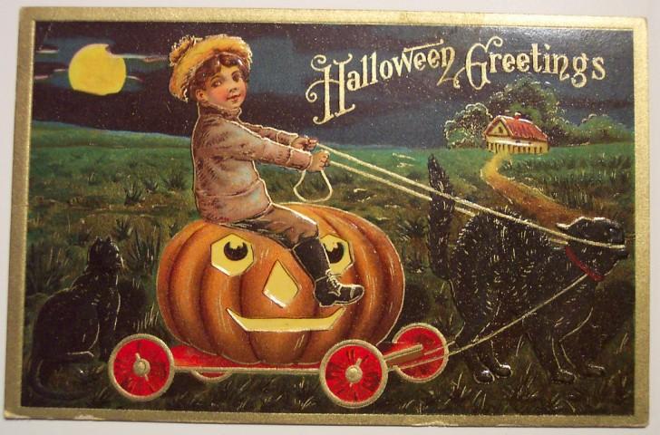 Ilustracion Halloween antigua 038