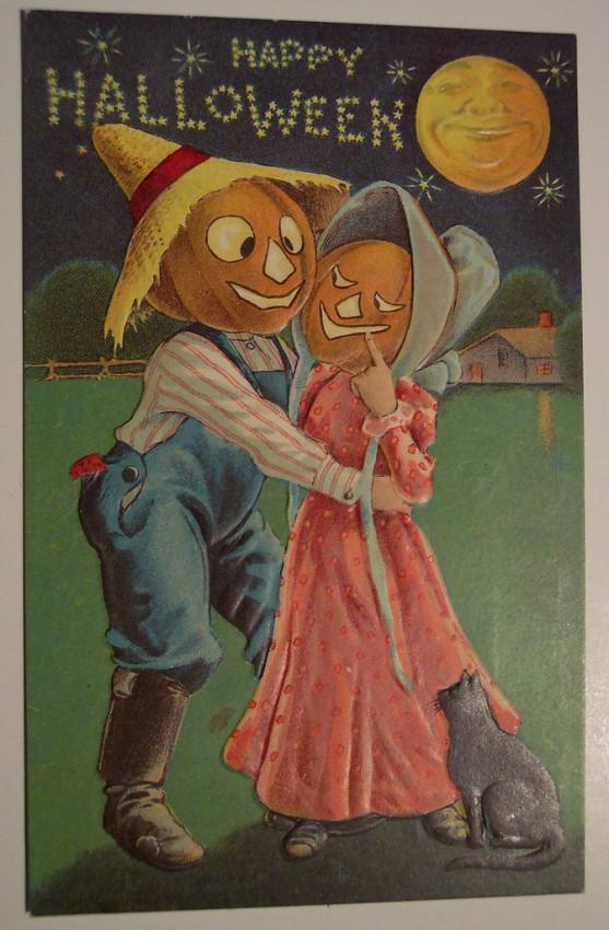 Ilustracion Halloween antigua 039