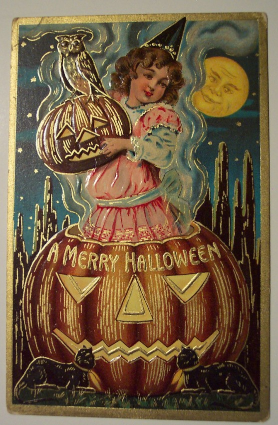 Ilustracion Halloween antigua 041