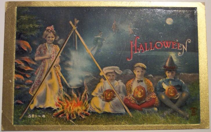 Ilustracion Halloween antigua 042