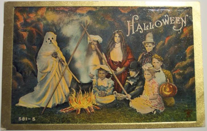 Ilustracion Halloween antigua 044