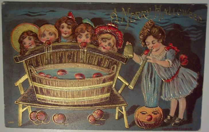 Ilustracion Halloween antigua 045