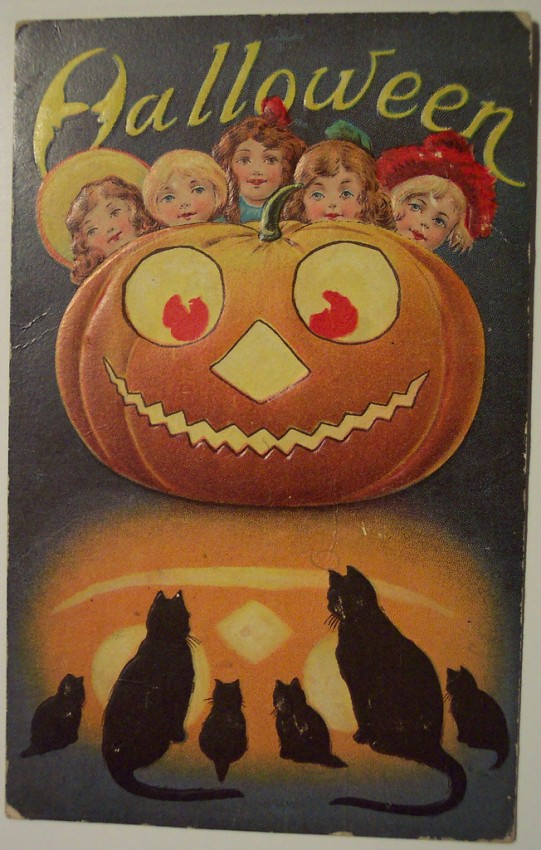 Ilustracion Halloween antigua 046