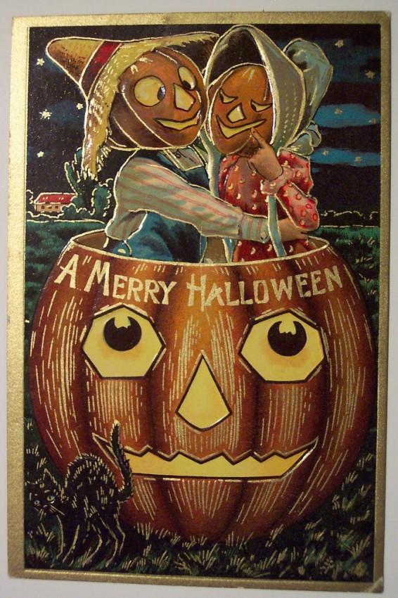 Ilustracion Halloween antigua 047