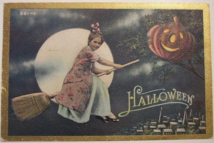 Ilustracion Halloween antigua 048