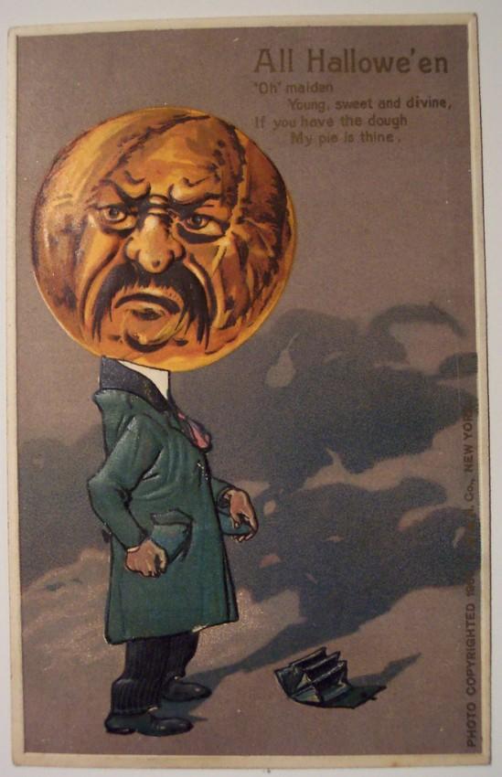 Ilustracion Halloween antigua 051