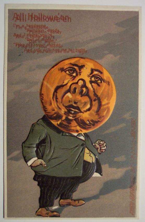 Ilustracion Halloween antigua 053
