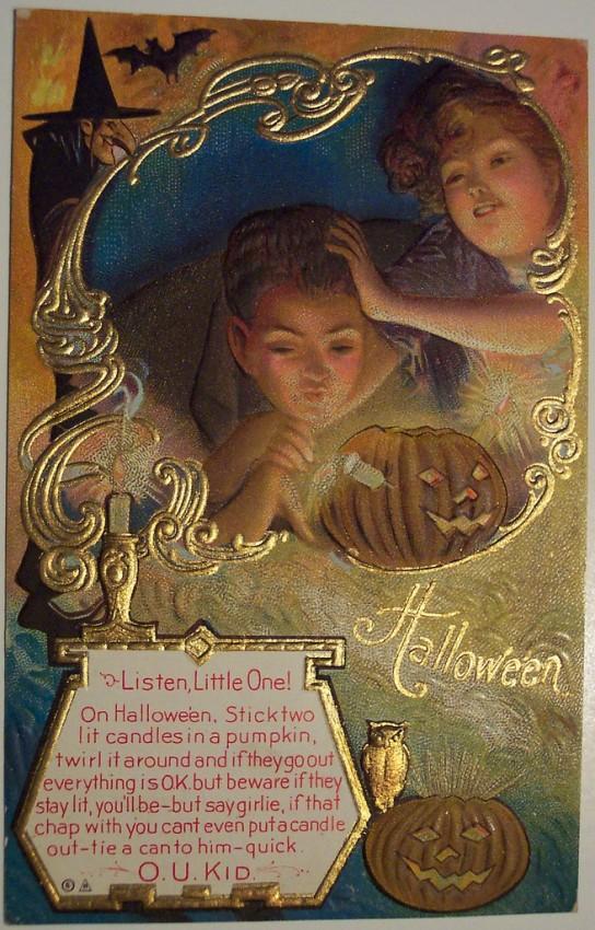 Ilustracion Halloween antigua 054