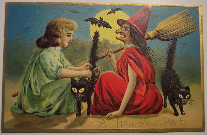 Ilustracion Halloween antigua 055