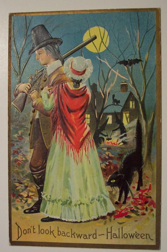 Ilustracion Halloween antigua 059