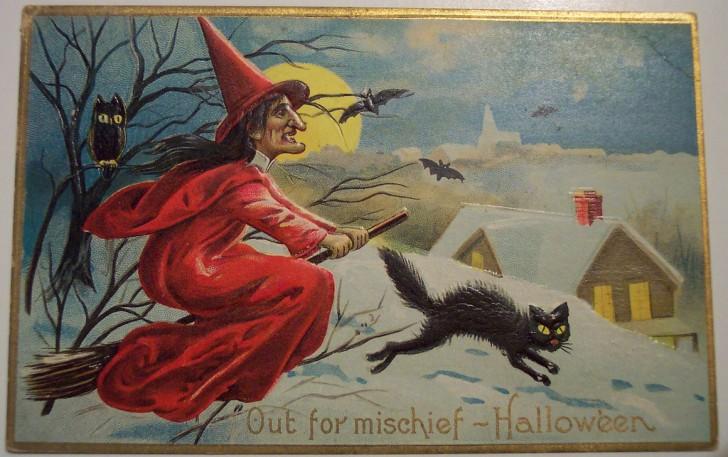 Ilustracion Halloween antigua 060