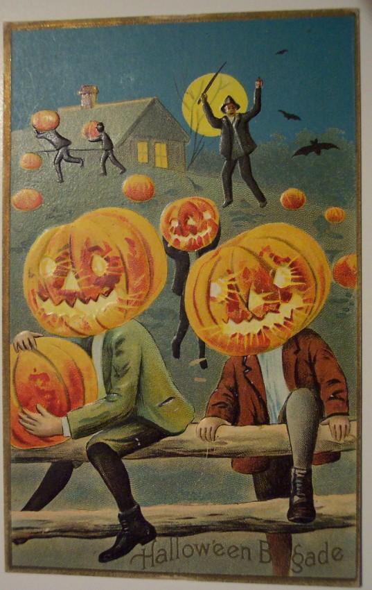 Ilustracion Halloween antigua 061
