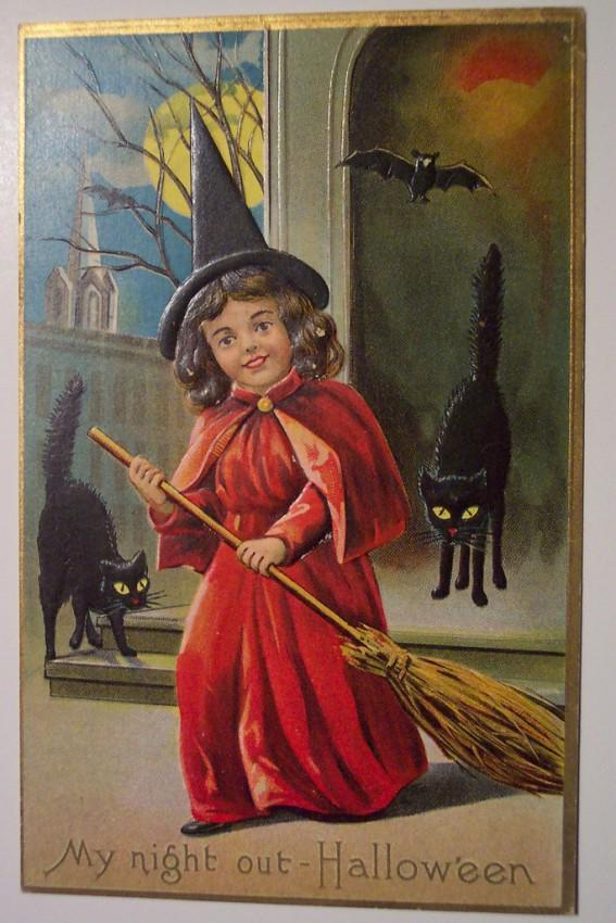 Ilustracion Halloween antigua 062