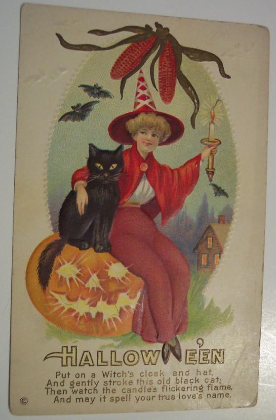 Ilustracion Halloween antigua 063