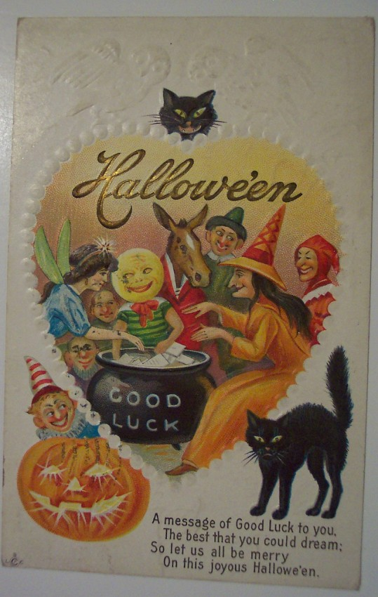 Ilustracion Halloween antigua 066