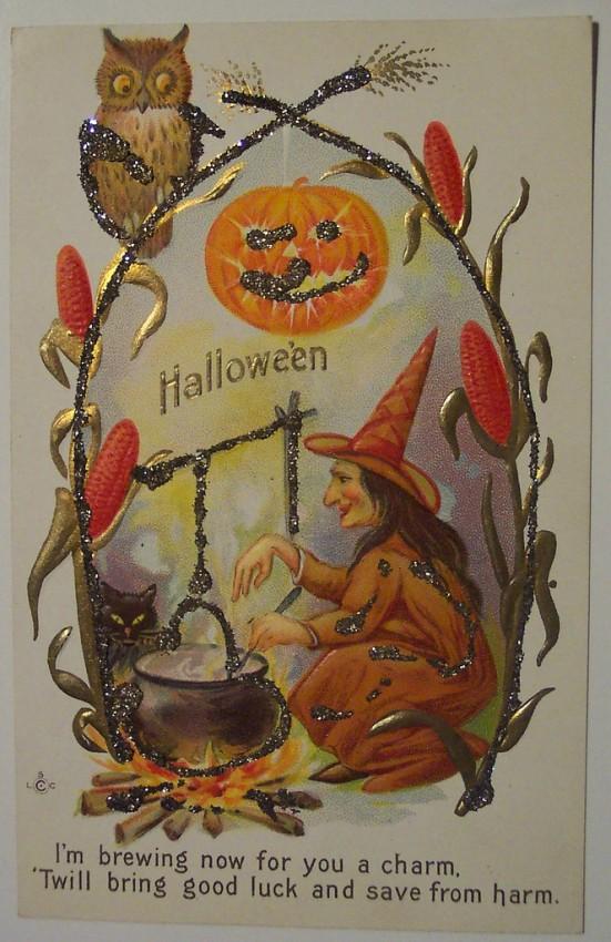 Ilustracion Halloween antigua 067
