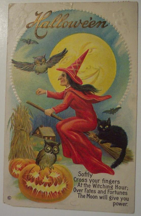 Ilustracion Halloween antigua 068