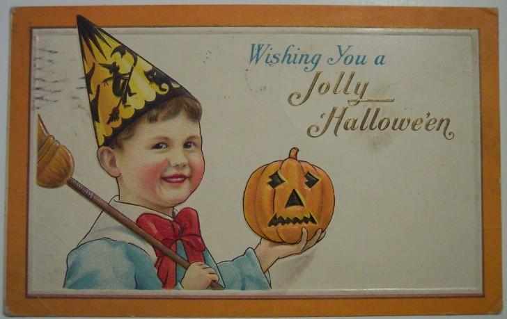 Ilustracion Halloween antigua 073