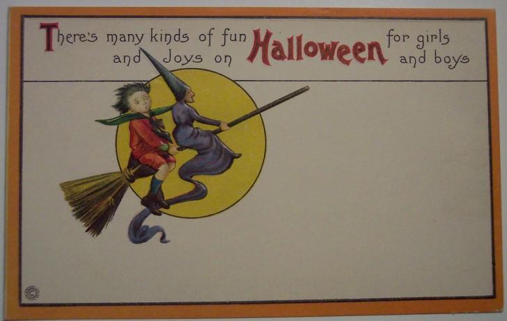Ilustracion Halloween antigua 075