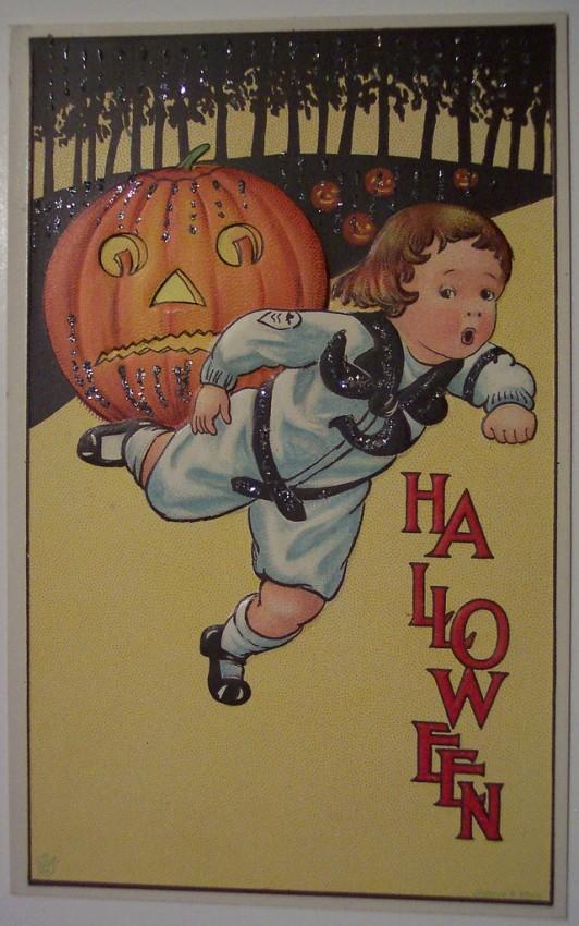 Ilustracion Halloween antigua 077