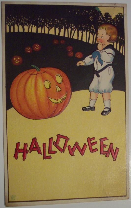 Ilustracion Halloween antigua 078