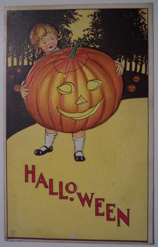 Ilustracion Halloween antigua 079