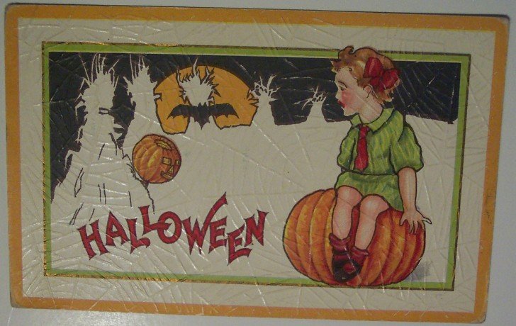 Ilustracion Halloween antigua 082