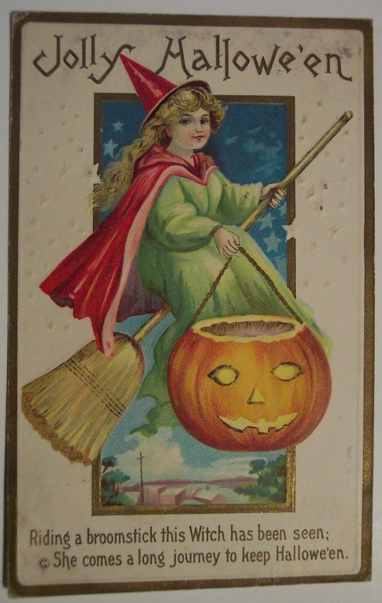 Ilustracion Halloween antigua 084