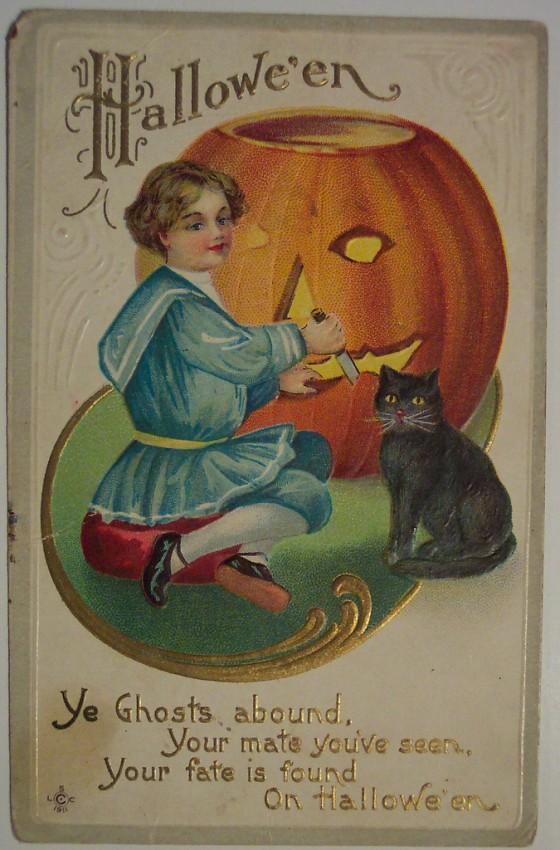Ilustracion Halloween antigua 085