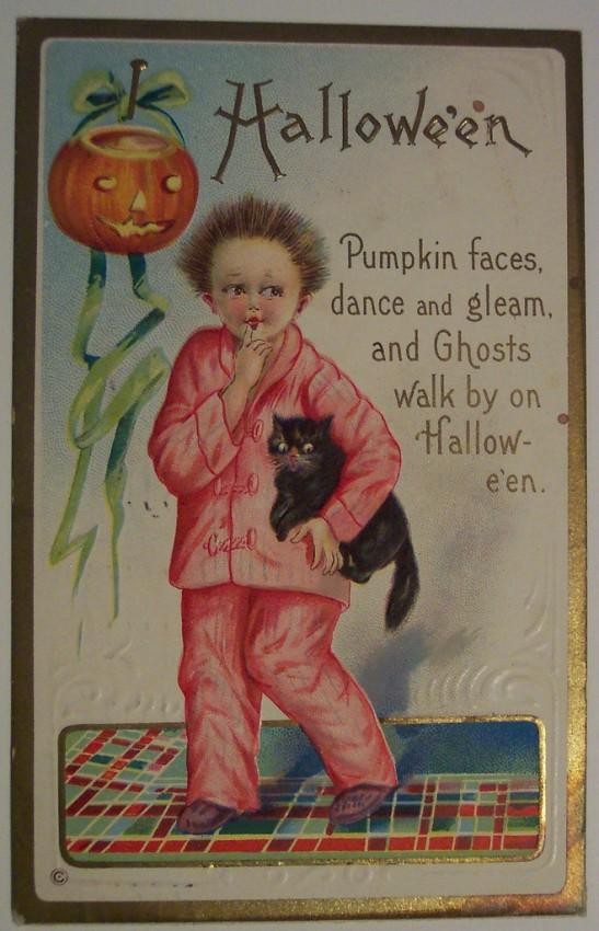 Ilustracion Halloween antigua 086