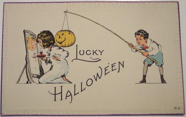 Ilustracion Halloween antigua 087