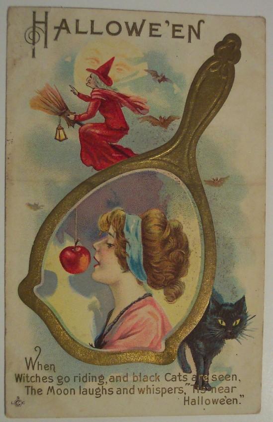 Ilustracion Halloween antigua 088