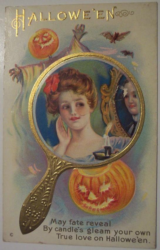 Ilustracion Halloween antigua 089