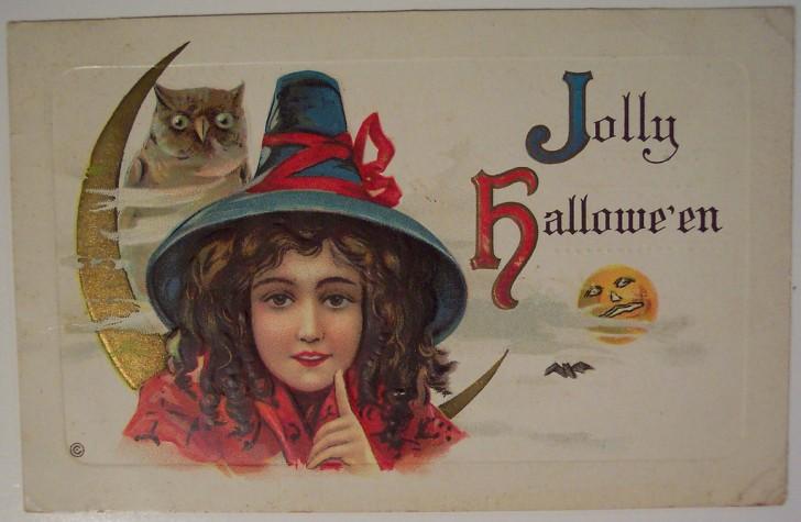 Ilustracion Halloween antigua 092