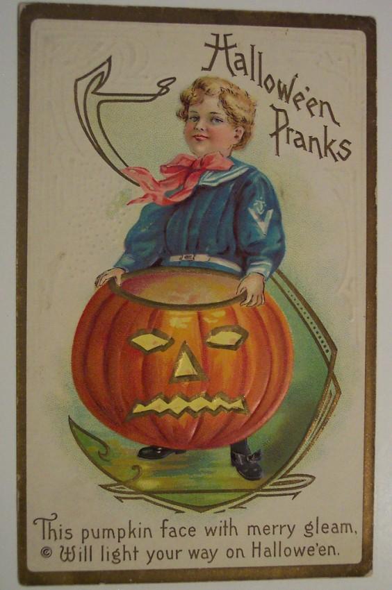 Ilustracion Halloween antigua 094