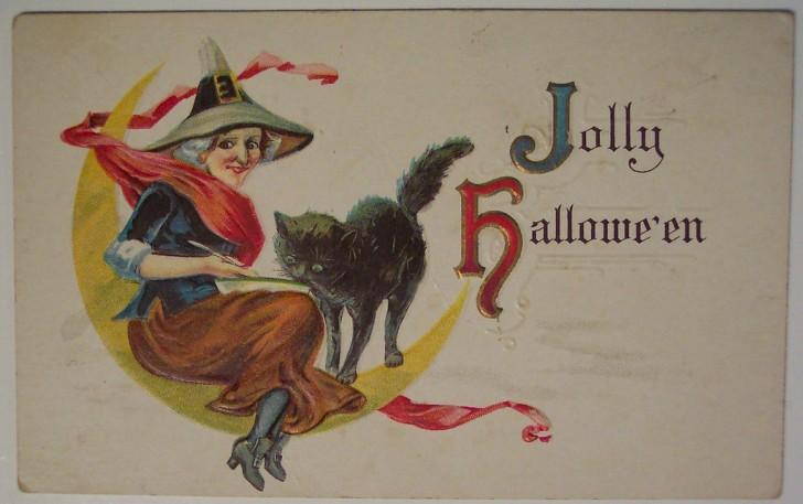 Ilustracion Halloween antigua 096