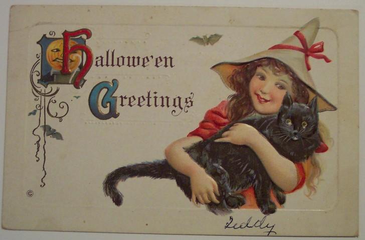Ilustracion Halloween antigua 097