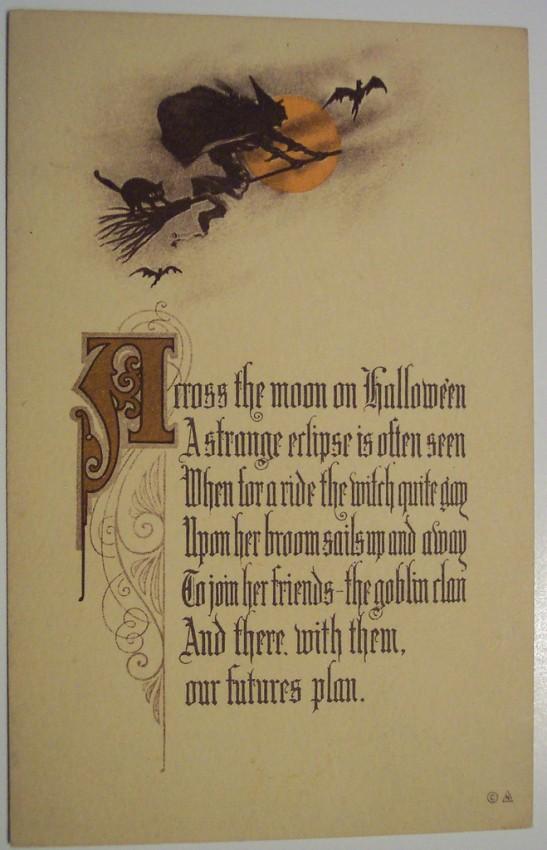 Ilustracion Halloween antigua 098