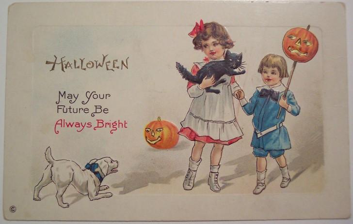 Ilustracion Halloween antigua 099