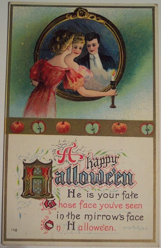Ilustracion Halloween antigua 100