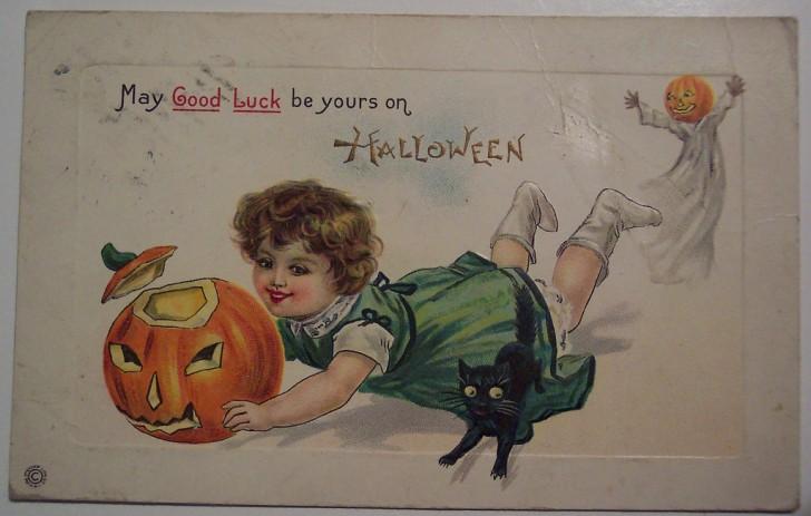 Ilustracion Halloween antigua 101