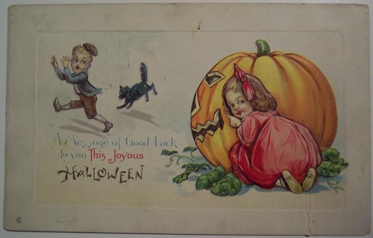 Ilustracion Halloween antigua 102