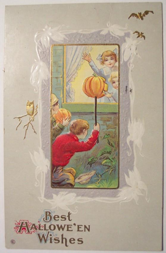 Ilustracion Halloween antigua 103